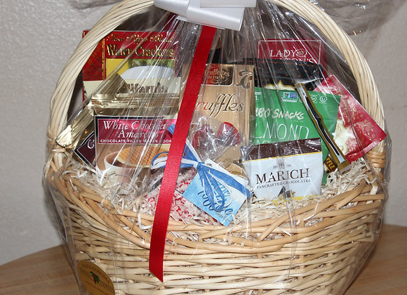 Gourmet Chocolates & Truffles Basket