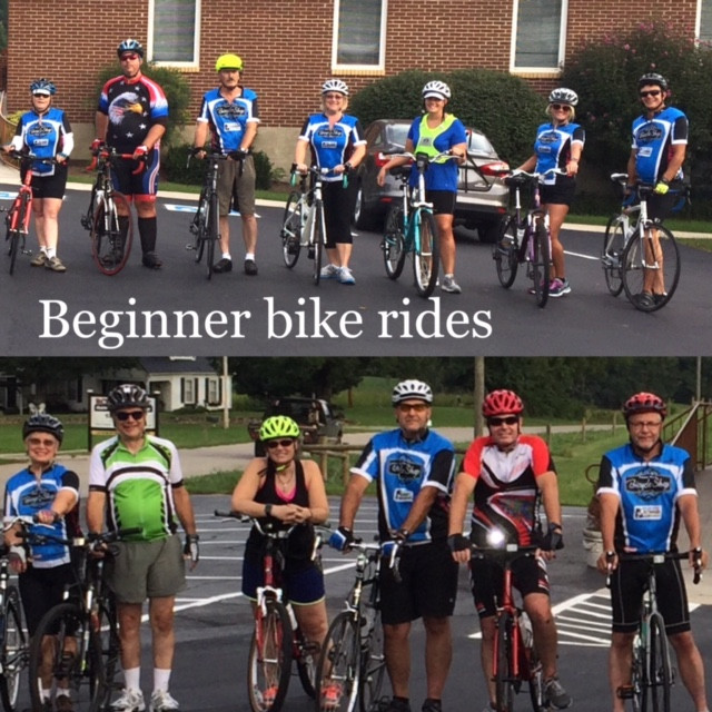 Beginner Group Bike Rides  Every Monday and Thursday at 6PM