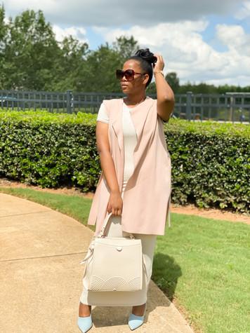 Hi Holly Handbag paired w/ Shades