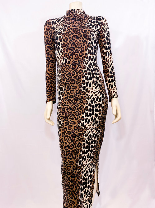 Leopard Print Two Piece