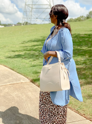 Hi Holly Handbag in Cream
