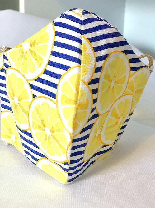 Face Cover- Lemons