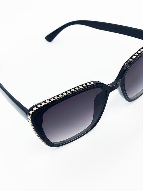 Klassic Shades with Bling-BLK