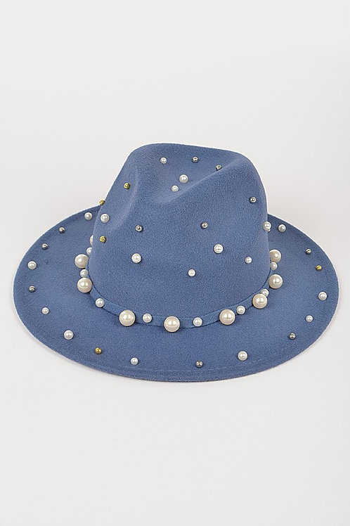 Fedora w/pearls