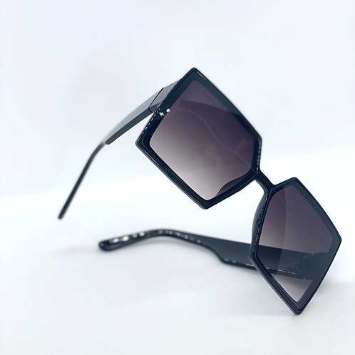 Oversized Square Shade-BLK
