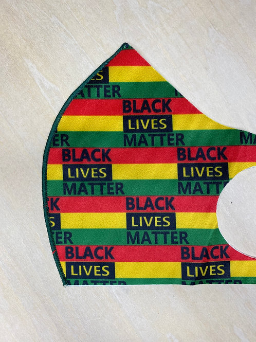 Face Cover- BLM colors