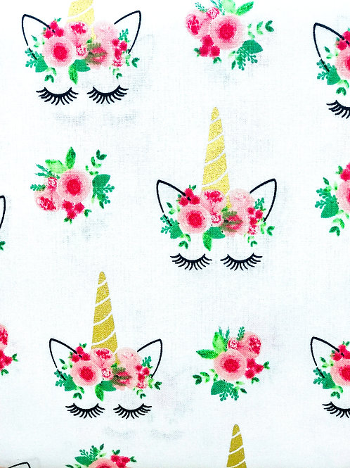Face Cover- Unicorn Lashes (floral)
