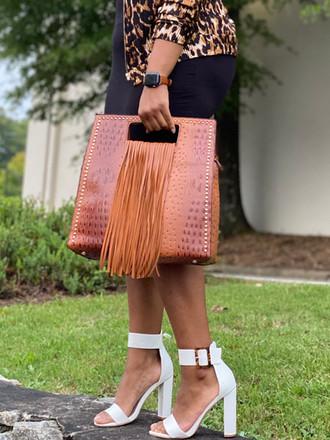 Stallion Handbag in Brown