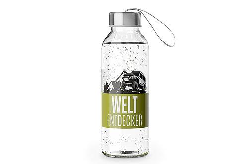 """Trinkflasche mit Schraubverschluß """"Weltentdecker 400 ml"""""""