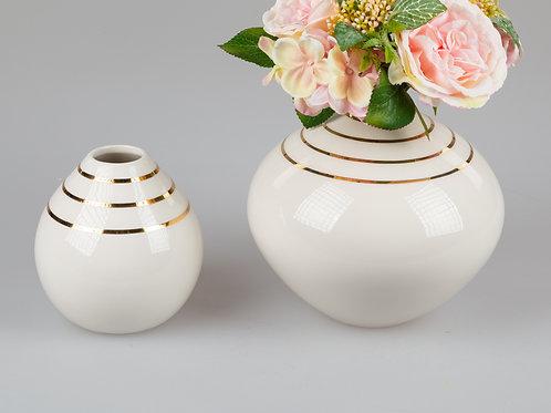 Vase Goldlinien 14 cm