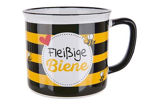 """Keramik Tasse """"Fleißige Biene"""""""