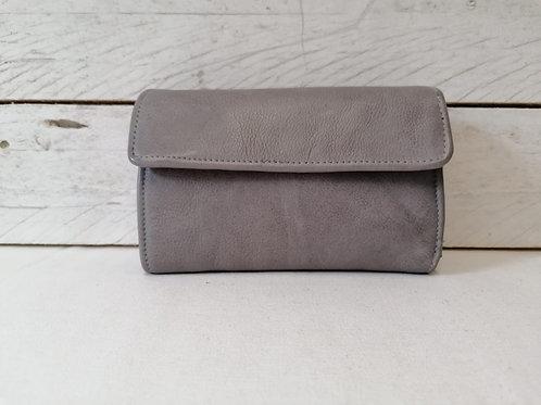 Bull & Hunt Midi wallet Damenbrieftasche grey