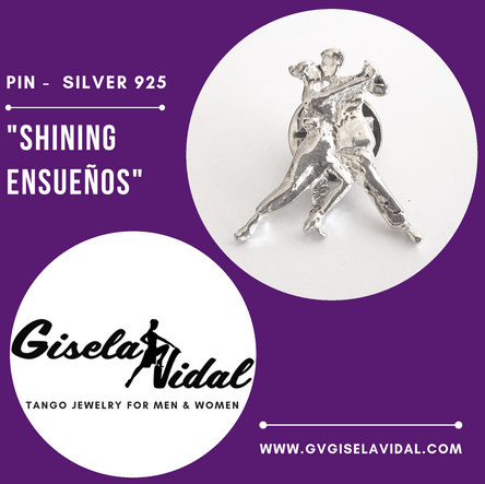 """SHINING ENSUEÑOS"" PIN"