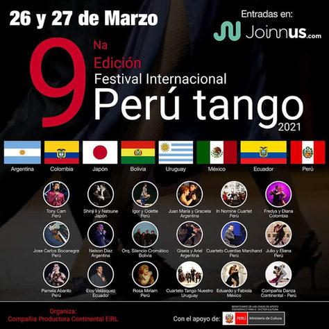 Gisela Vidal Festival Internacional Peru Tango