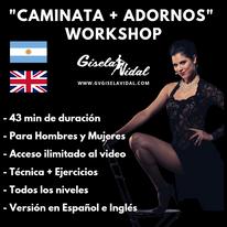 Seminario de Caminata Y Adornos para el Tango por Gisela Vidal