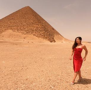 Gisela Vidal in Egypt