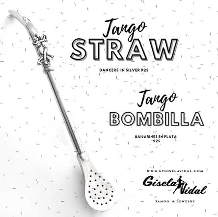 """TANGO STRAW"" / ""BOMBILLAS DE TANGO"""