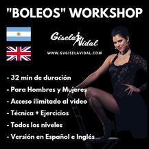 Seminario de Boleos por Gisela Vidal