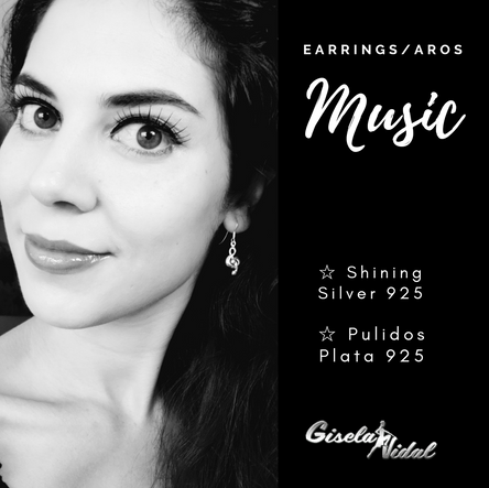 """MUSIC"" EARRINGS"