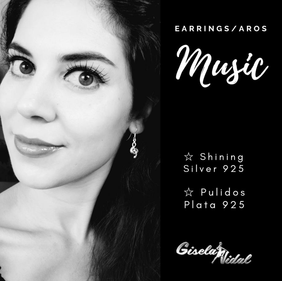 """MUSIC"" EARRINGS"