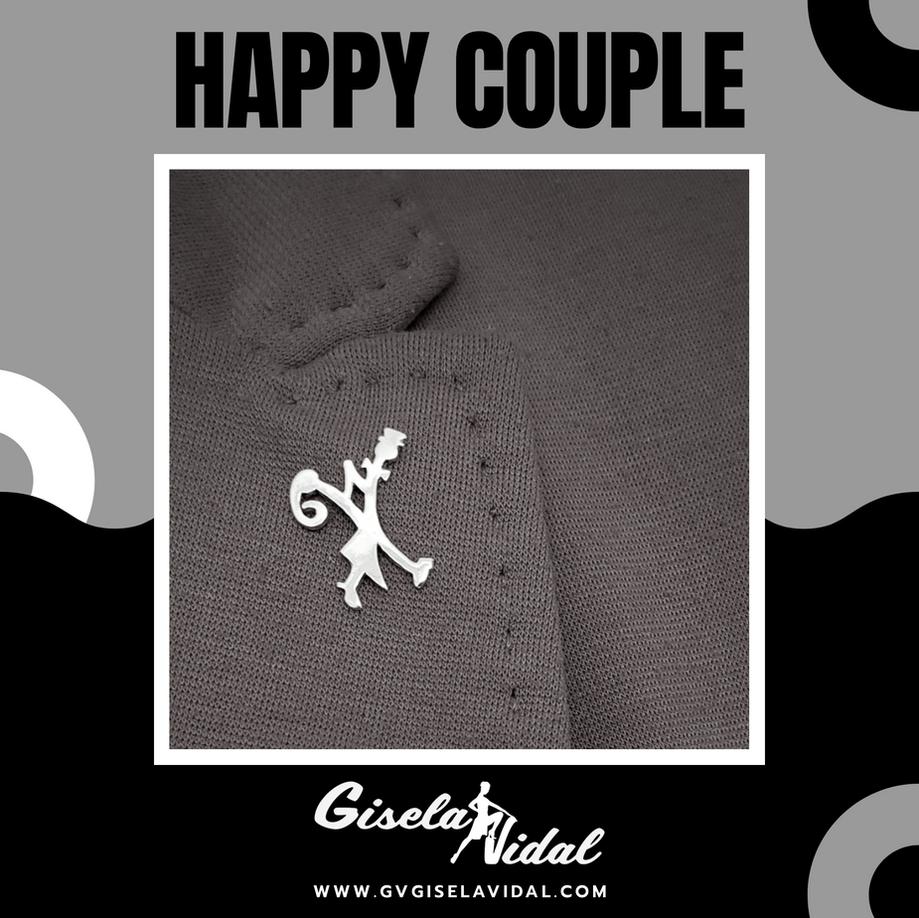 """""""HAPPY COUPLE"""" PIN"""