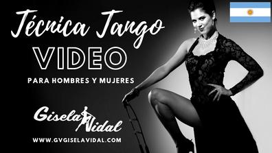 Video de Tecnica para el Tango