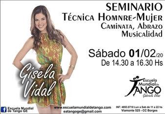 Gisela Vidal Tango Lessons