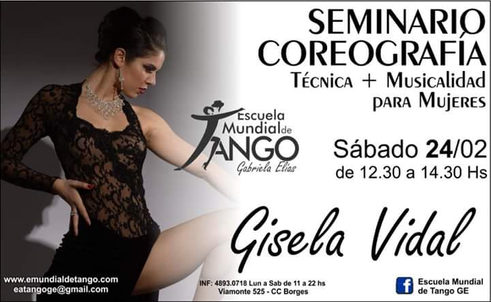 Gisela Vidal Technique Tango Lessons
