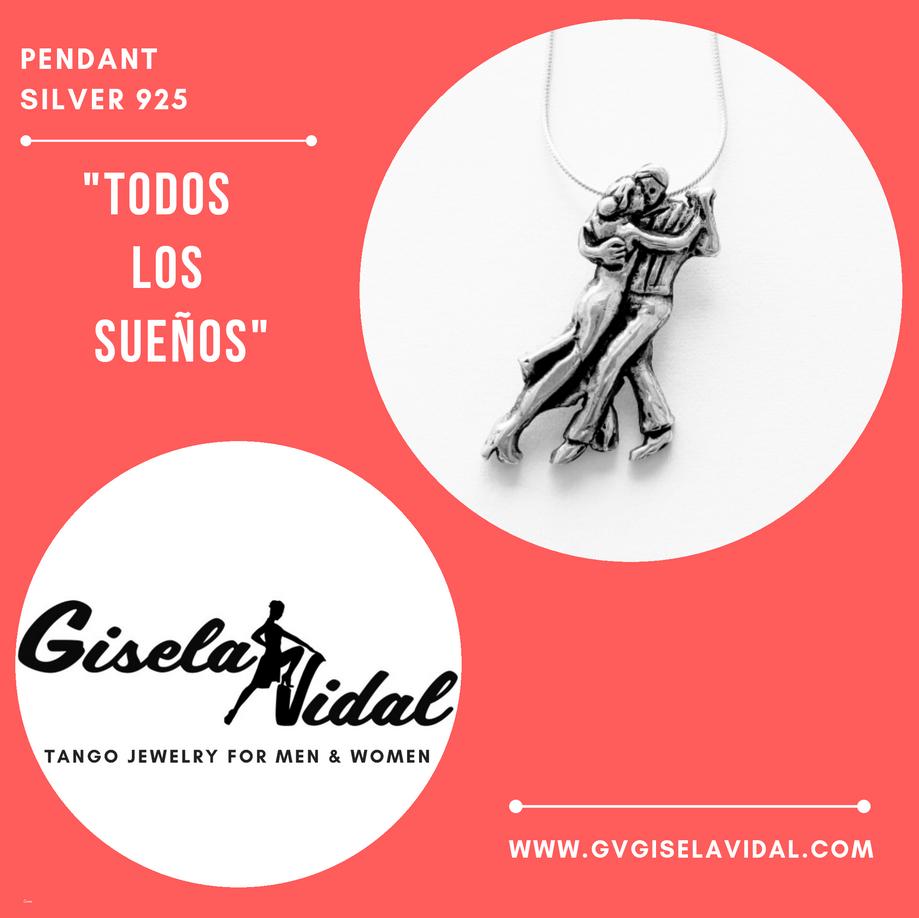 """""""TODOS LOS SUEÑOS"""" PENDANT"""
