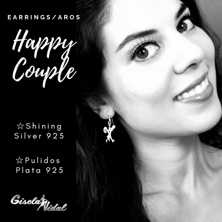 """HAPPY COUPLE"" EARRINGS"