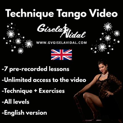 Tango Technique Video by Gisela Vidal