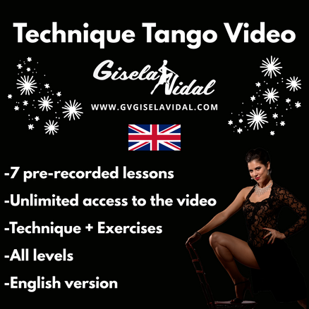 Tango Technique Video by Gisela Vidal