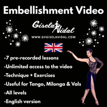 Embellishment Video by Gisela Vidal