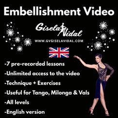 Embellishment Video by Gisela Vidal