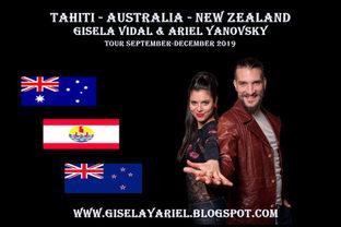 Gisela Vidal Tour 2019