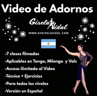 Video de Adornos por Gisela VIdal