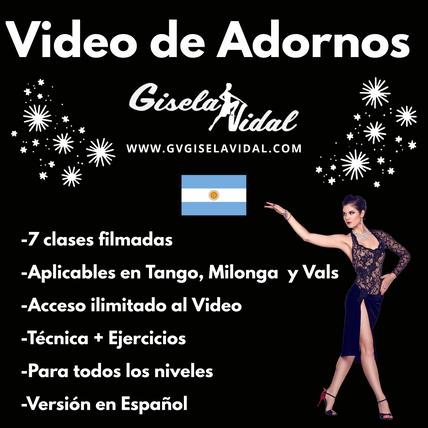 Video de Adornos por Gisela VIdal