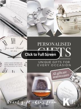 Kleeneze Personalised Gifts Catalogue
