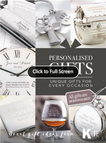 Kleeneze Personlised Gifts Catalogue