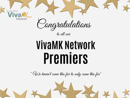VivaMk Premier Recognition August 2020
