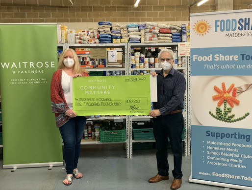Waitrose and partners raise £5K for Foodshare