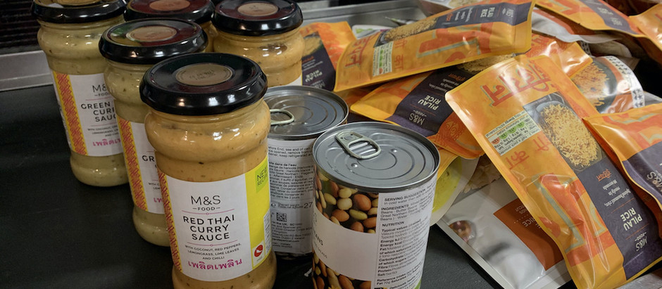 Sweco in Maidenhead have donated Foodshare M & S Vouchers!