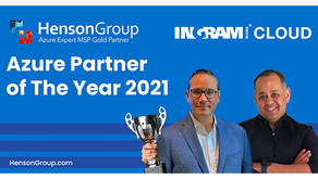 Henson Group Receives the 2021 Ingram Micro Cloud Partner Award