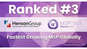 Henson Group Ranked 3rd Fastest Growing on Channel Futures 2021 MSP 501 List