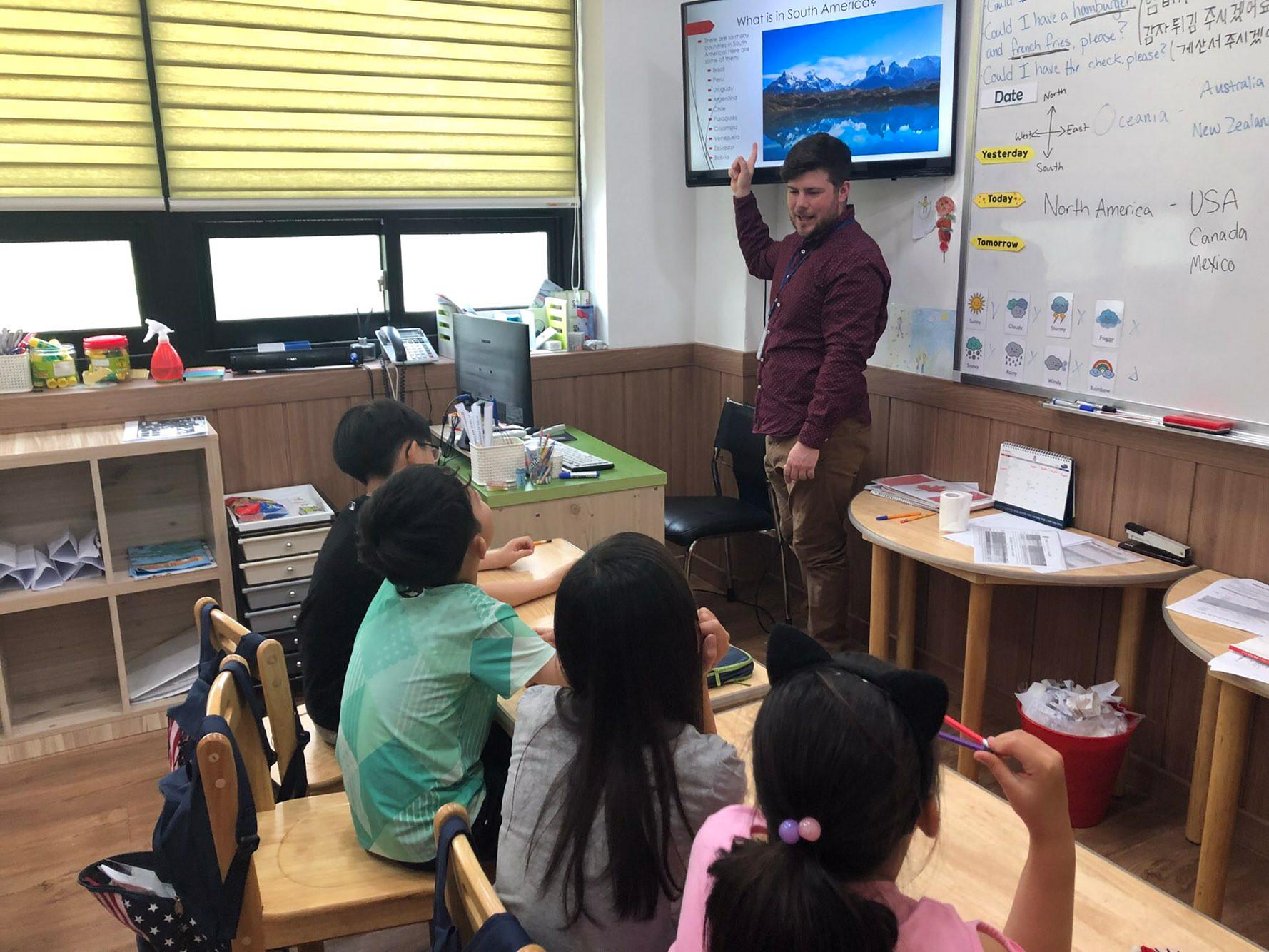 Elementary School 초등부 수업