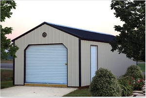 Metal Utility Garage.JPG