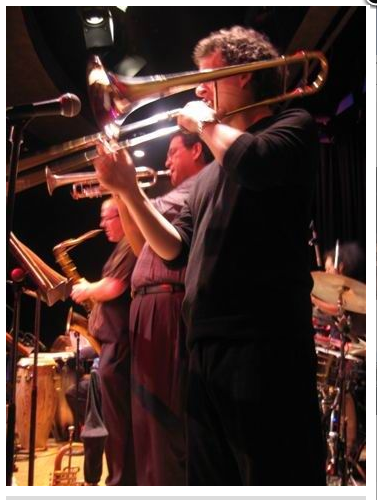Doug Webb on sax and Andrew Lipman on Trombone at Yoshi's, San Francisco