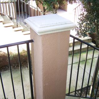 danville banister painting service, danville handrail painting