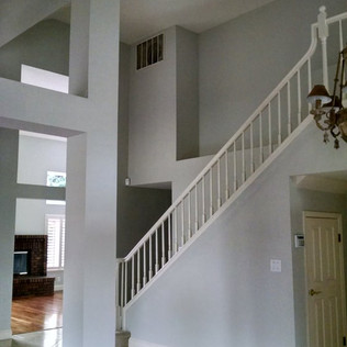 antioch banister painting service, antioch handrail painting