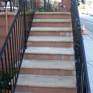 san ramon banister painting service, san ramon handrail painting